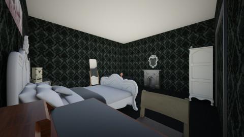 Castle Home - Vintage - Bedroom  - by EriahnaP
