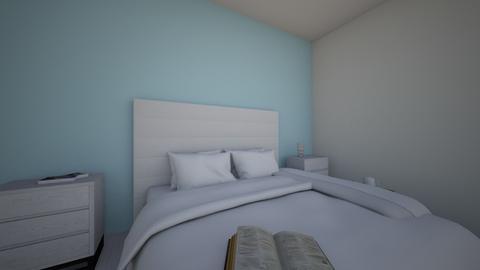 hotel room - Bedroom  - by katerina dimogerontaki