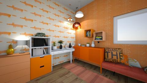 Kitsune - Modern - Living room  - by matildabeast