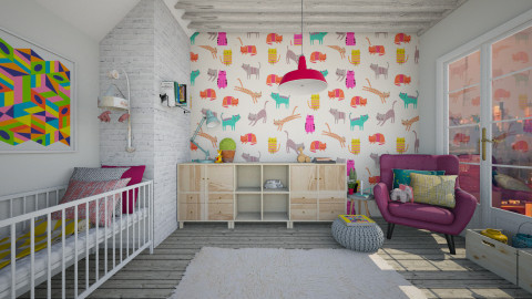 nursery - Kids room  - by neta1