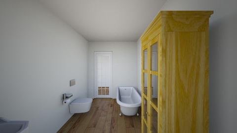 Tunel - Bathroom  - by gabrielasiemiaszko