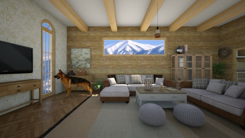 Canadian wood - Living room - by 532johanna