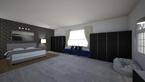 P1 - Modern - Bedroom  - by GRUNT