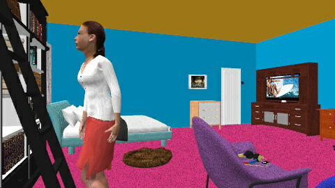 Lilys Epic Dream Room! - Bedroom - by nuthousedesigner124