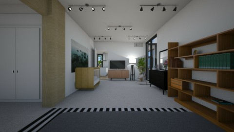 2BR_2BA Master Bed 3 - by Lele03