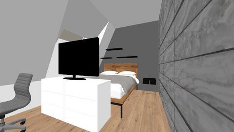 before en after - Bedroom  - by marittheroomstyler