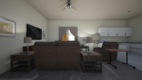 Senior Apartment - Living room  - by WestVirginiaRebel