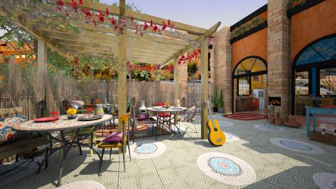 Fiesta - Eclectic - Garden - by evahassing