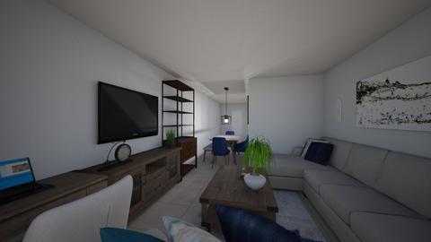 Sarah Apt 1 Living Room 2 - Living room - by emmanuelmanny
