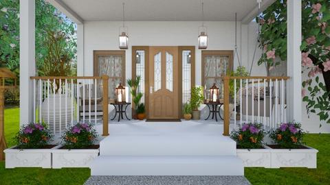 porch - by milica tanurdzic