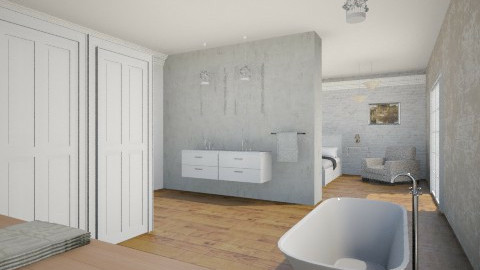Bathroom En Suite - Glamour - Bathroom  - by loly01