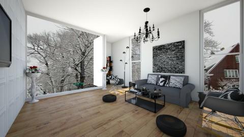 Black - Living room - by gtenenbaum