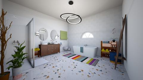Textiles Final 2 - Bathroom  - by LpCray
