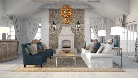 Ocean Inspired Living Rm2 - Living room  - by jjp513
