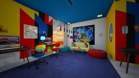Bauhaus studio - Modern - Office  - by BlackOrchidea