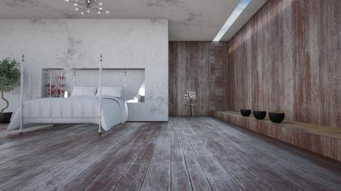 Madera y Hormigon - Modern - Bedroom - by LuzMa HL