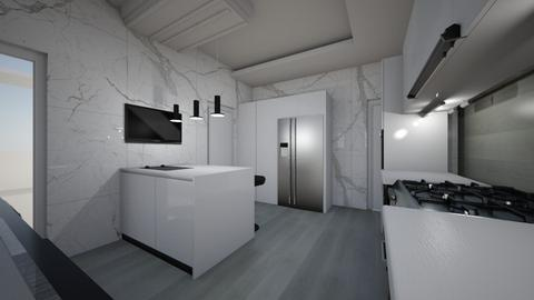 AKINTOYE REF BOLAJI KITCH - Kitchen  - by jfx