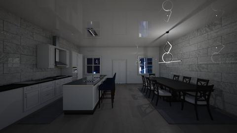318 Marion St Brooklyn NY - Kitchen  - by sfurkan