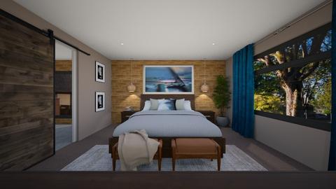 Jackson Master Bedroom - Bedroom  - by louisdhe