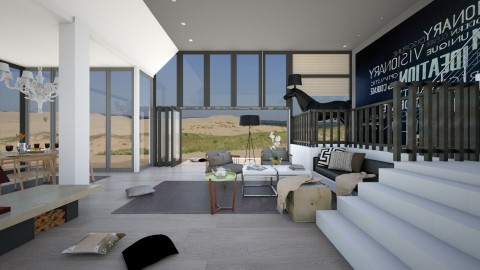 dutch holiday - Modern - Living room  - by Evangeline_The_Unicorn