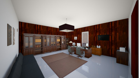 Simple office - Office  - by Brave22