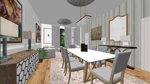 kamar - Classic - Living room  - by kamar yuuua