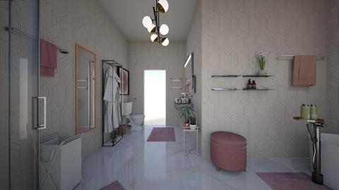 Cherry Blossom Bathroom - Bathroom  - by PeculiarLeah
