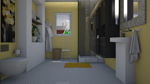 Summer Fresh - Modern - Bathroom  - by janip