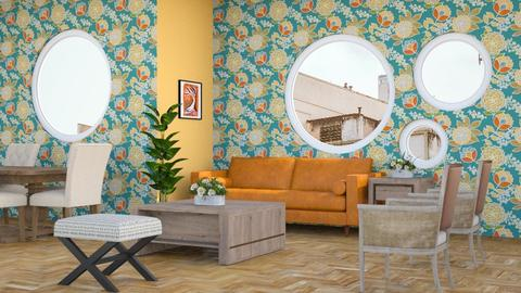 Shapes and Colors - Eclectic - Living room  - by millerfam