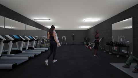 Gym - by Noa Jones