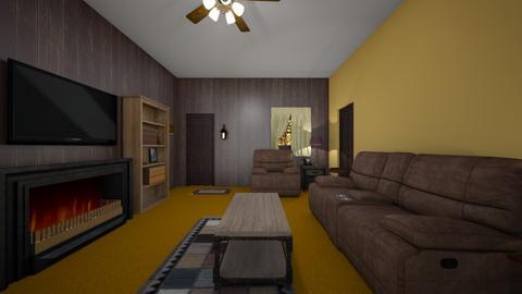 Rustic Living Room - Living room  - by WestVirginiaRebel