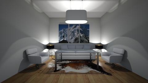 Mountain Chill - Modern - Living room  - by riordan simpson