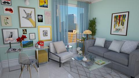 Home Office for Kelly - Eclectic - Office - by ANM_975