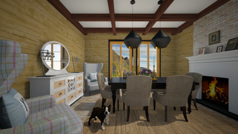 Country Dining - Classic - Dining room  - by 3rdfloor