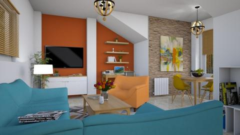 For Dhul - Eclectic - Living room  - by Theadora