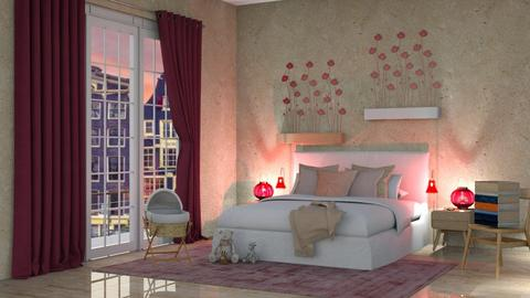 Poppies Mood - Bedroom - by seth96