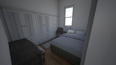 London 1 - Bedroom  - by kdpurcell3