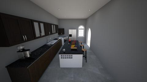 kitchen 1 - Modern - Kitchen  - by hleather05