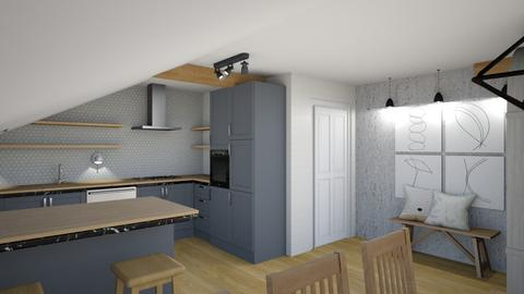 Ucman Klopcic plan 2_3 - Kitchen  - by Petja1980