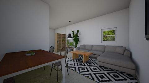house ramat chen 3 - Living room  - by TamarMatalon