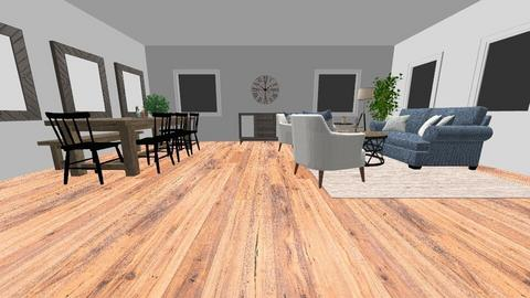 Living Room - Country - Living room - by Leecey11