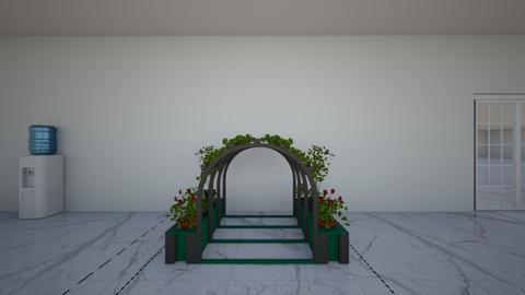 Jhenny pool room - Garden  - by chaljhen13