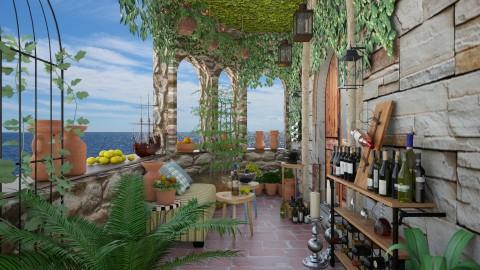 taste my wines  - Country - Garden  - by Fuzzy Squirrel