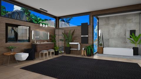 California - Modern - Bathroom  - by LuluDesignStyle