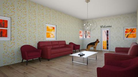 Autumn Living Room - Living room  - by xxxItsDesignerGirl