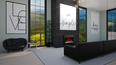 Modern House Pt1 - Modern - Living room  - by LuluDesignStyle