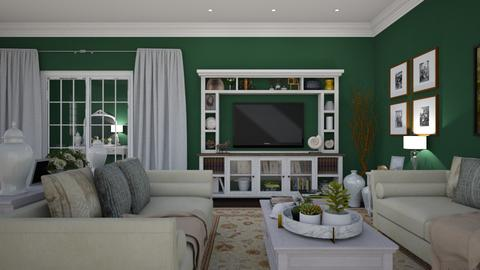 Woodland View 3 - Classic - Living room - by Claudia Correia