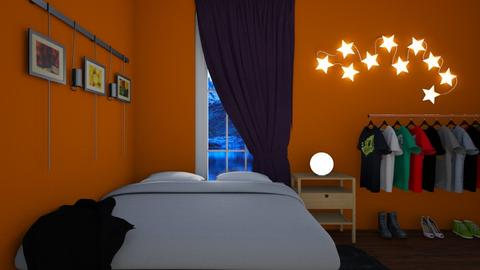 Eclectic Bedroom - Eclectic - Bedroom  - by deleted_1609868595_bleeding star