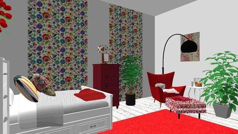 Polish folk bedromm - Country - Bedroom  - by Sepiadekor