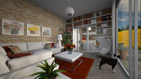 Quietude - Eclectic - Living room  - by Theadora